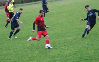 Utolsó percben kapott góllal döntetlent játszottunk a 2. helyezett Komló otthonában